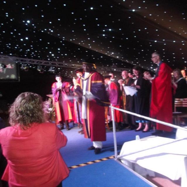 Deji Graduation Ceremony