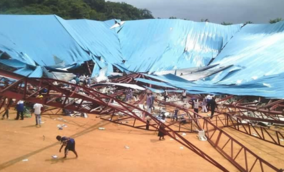 Uyo Church Building Collapse