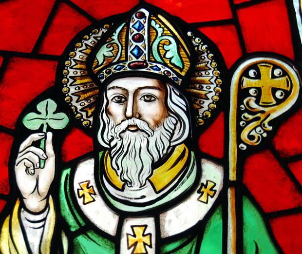 St Patrick's Day in LENT