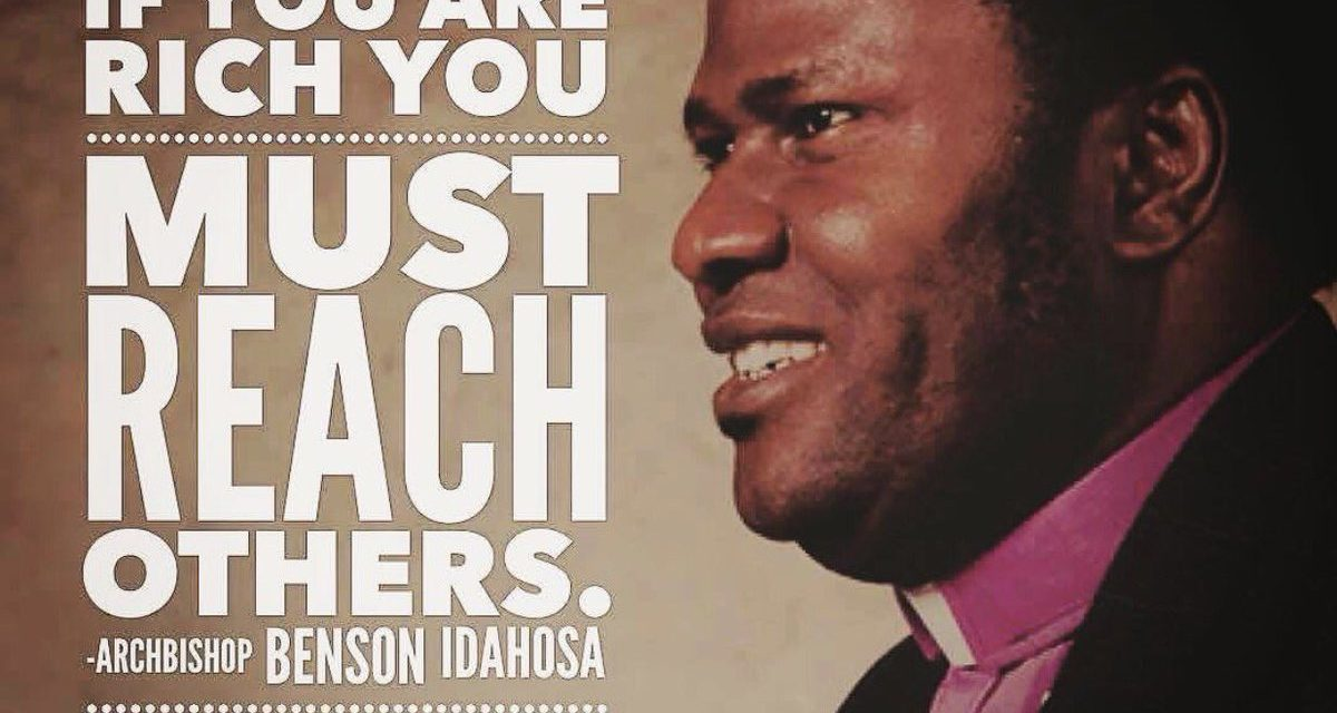 """20 YEARS AFTER, WE REMEMBER HIM: PAPA BENSON IDAHOSA, """"Africa's greatest ambassador of faith to the world,"""""""