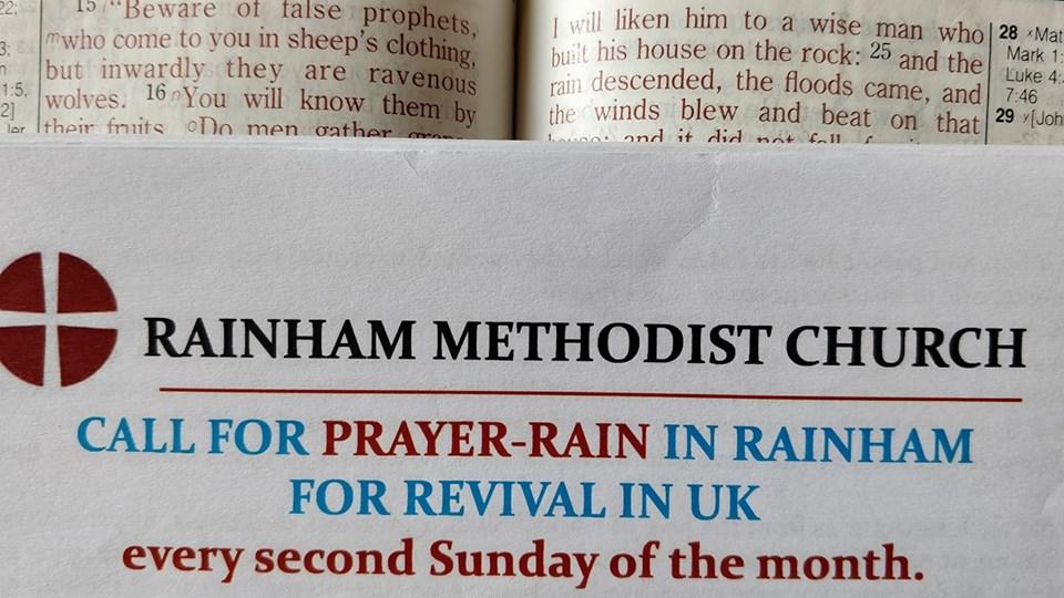 MAY PRAYER-RAIN IN RAINHAM | Deji Okegbile's Blog