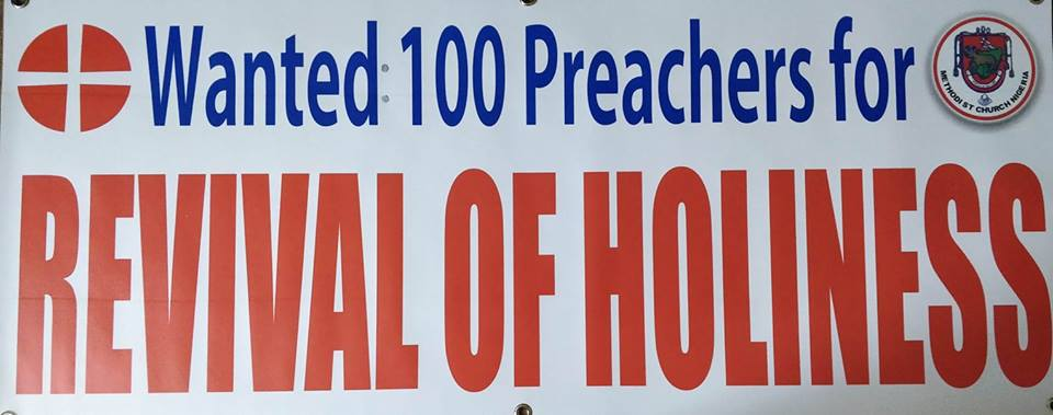 METHODIST PENTECOST AT 280 –WANTED: 100 Preachers for Revival of Holiness