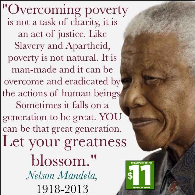 Legacy of Mandela @100: Overcoming Man-made Poverty, Slavery and Apartheid