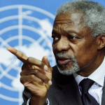 KOFI ANNAN OF UNITED NATIONS: His Doctrine and the 500th Anniversary of the Transatlantic Slave Trade.
