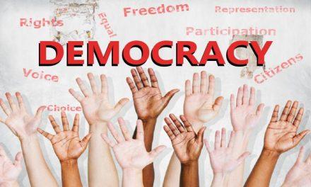 """CROSS-PARTISAN THANKSGIVING DISCOURSE"": Saving Democracy from the Politicians."