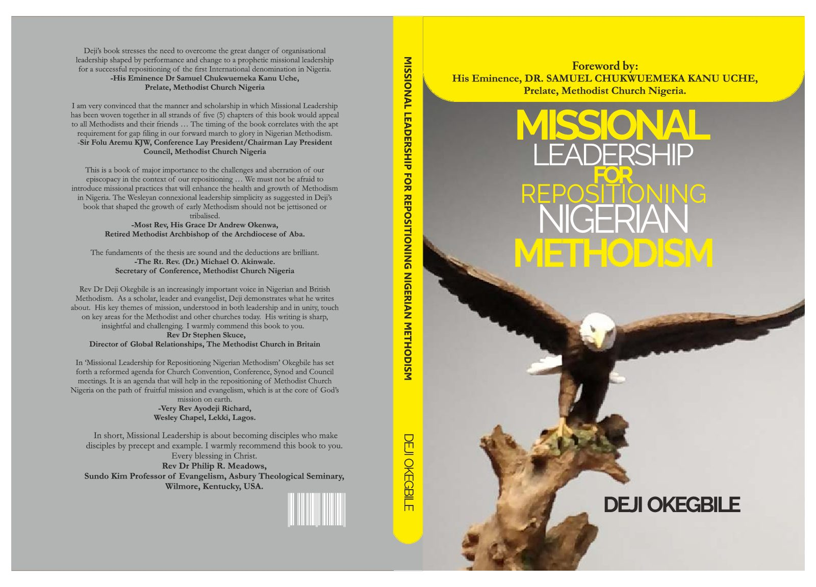 Watch Out: My New Book: Missional Leadership for Repositioning Nigerian Methodism