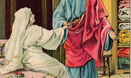 DEATH IN THE UPPER ROOM!: Miracle in Christ's voice.