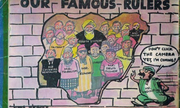 NIGERIA @60: Tyranny of Kleptocrats' Exclusive Institutions and usage of Youth as Footnote.