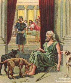 The Blindness of Wealth: Unrepentant Rich Man (Nations and churches) and Eternal Reversal.
