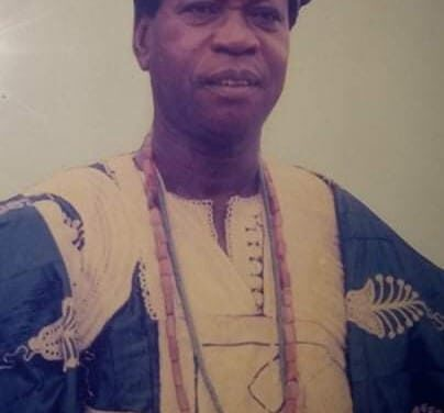 REMEMBERING CHIEF ADEBUSUYI @95 and as Baba Ijo, Methodist Church, Oke Oja, Osu @35.