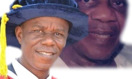 MOSES TO ISRAEL; In his father's footsteps: Apostle (Professor) Olusegun Otemuyiwa, new Baba Adura, Osu, 1st Sacred Cherubim and Seraphim Church in Ijesaland to hold Sunday Service.
